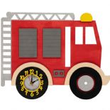 Little Timbers Fire Engine Clock